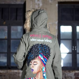 Look Project - Afro Kalın Parka