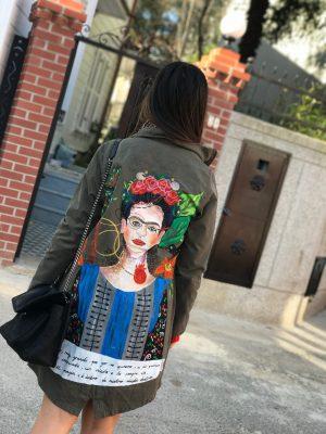 Look Project - Frida Nakışlı - Parka