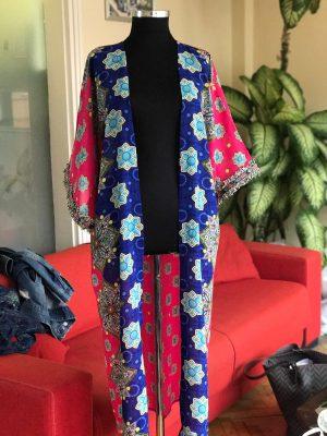 Look Project - Fuşya - Kimono