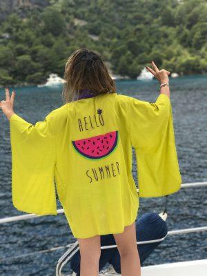Look Project - Karpuz - Kimono