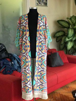 Look Project - Mint - Kimono