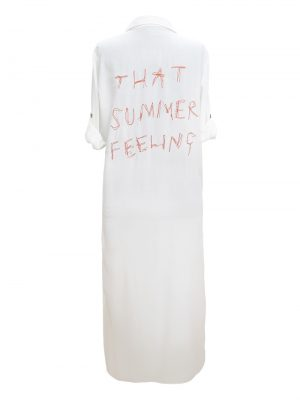 Look Project - That Summer White Shirt Dress