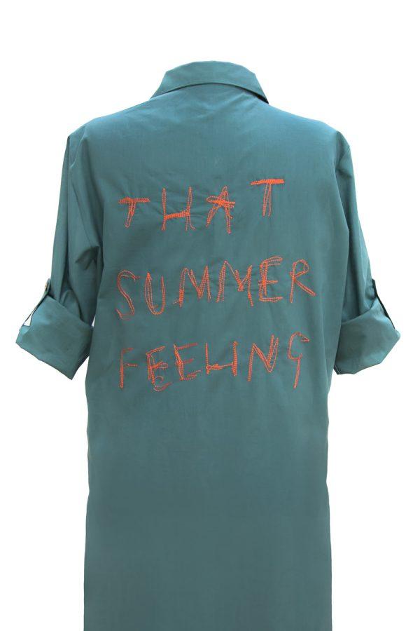 Look Project -That Summer Mint Gömlek Elbise