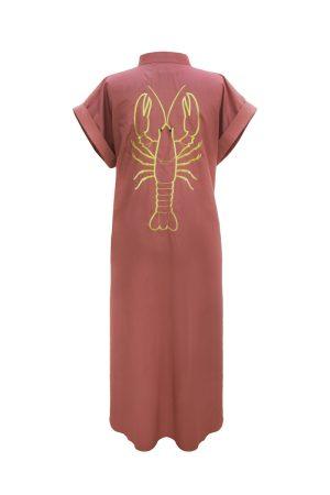 Look Project - Lobsy Tarçın Gömlek Elbise