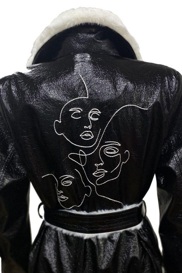 Lookproject - Studio Crinkle Palto Siyah
