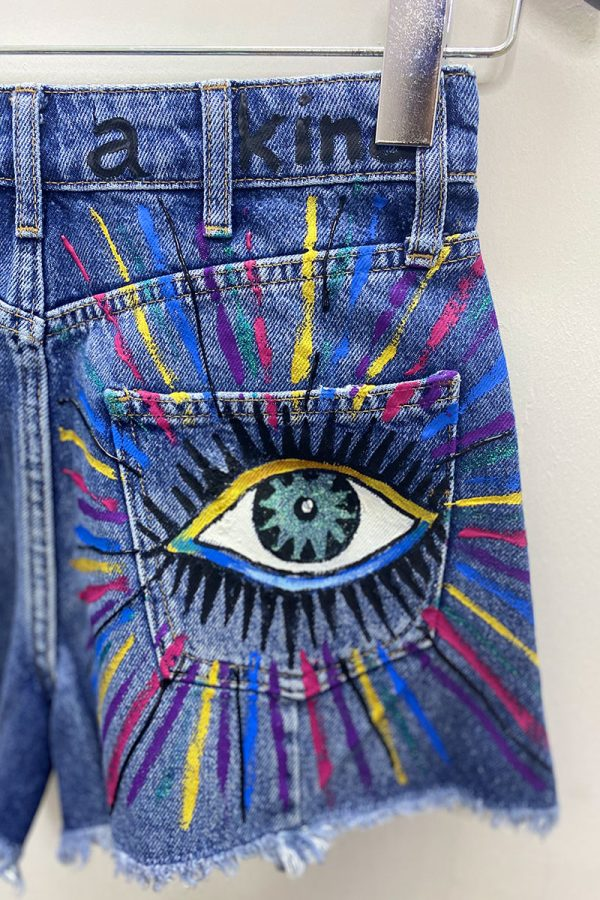 Lookproject - Summer Look Denim Short