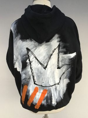 Lookproject - CTRL ALT DEL Hand Painted Hoodie