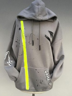 Lookproject - Game On Hand Painted Hoodie