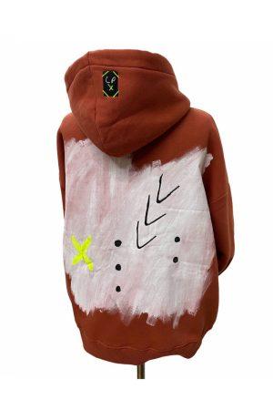 Lookproject - Inspire - El Boyaması Hoodie