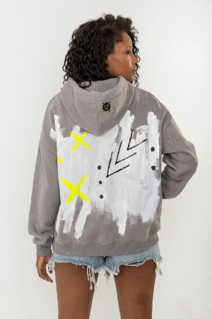 Look Project - İnspire - Hand Painted Hoodie
