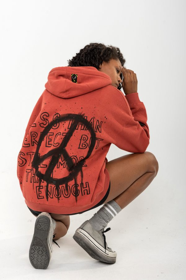 Look Project - Peace - Hand Painted Hoodie