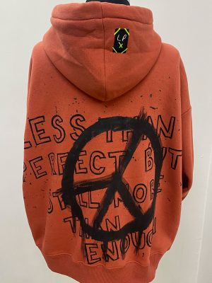 Lookproject - Peace Hand Painted Hoodie