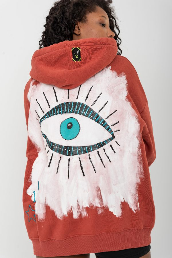 Look Project - Lucky Look - Hand Painted Hoodie