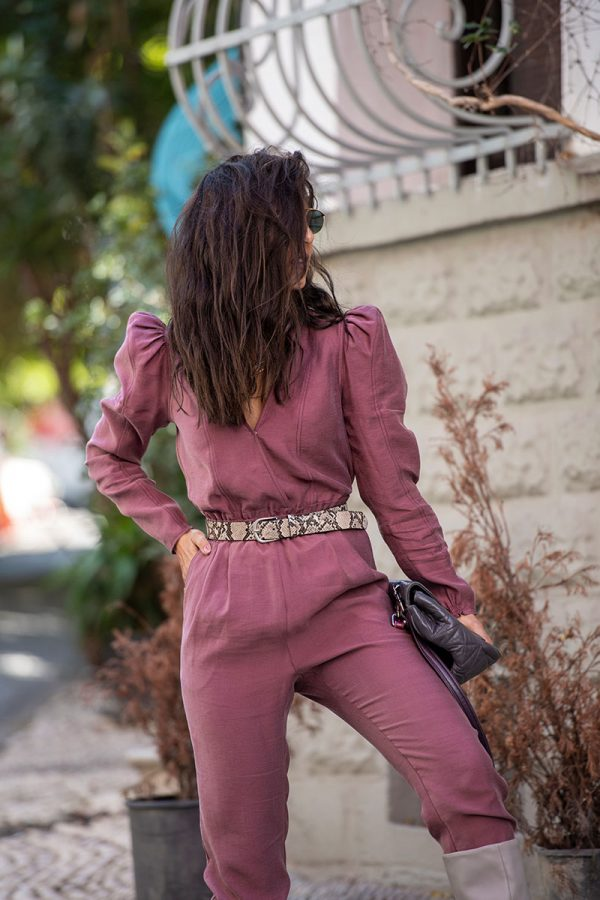 Lookproject - Nina Jumpsuit Pembe