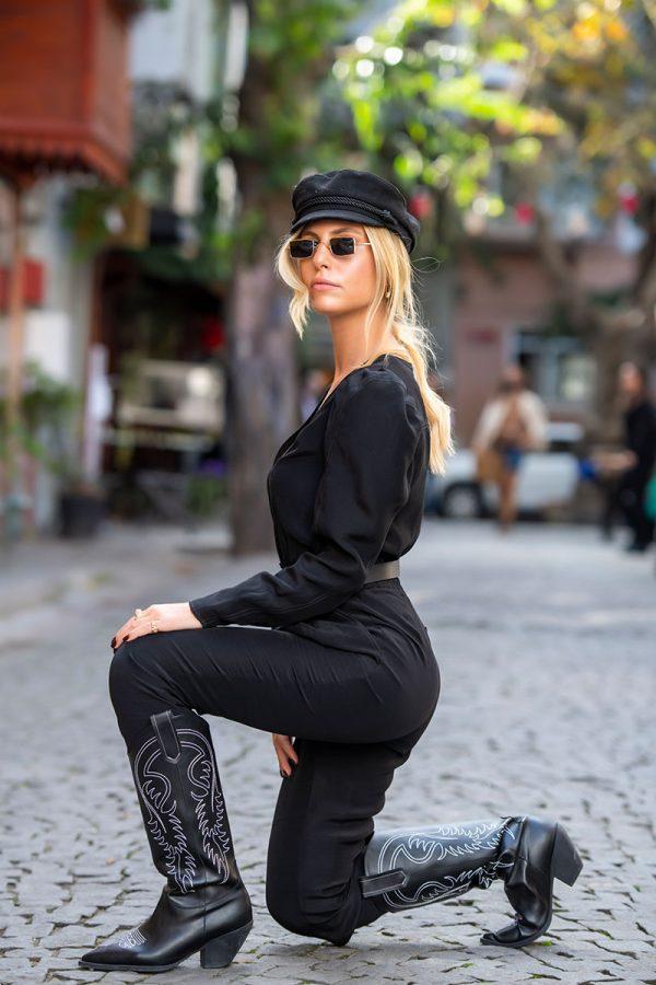 Lookproject - Nina Jumpsuit Siyah
