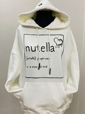 Look Project - Nutella Hand Painted Hoodie