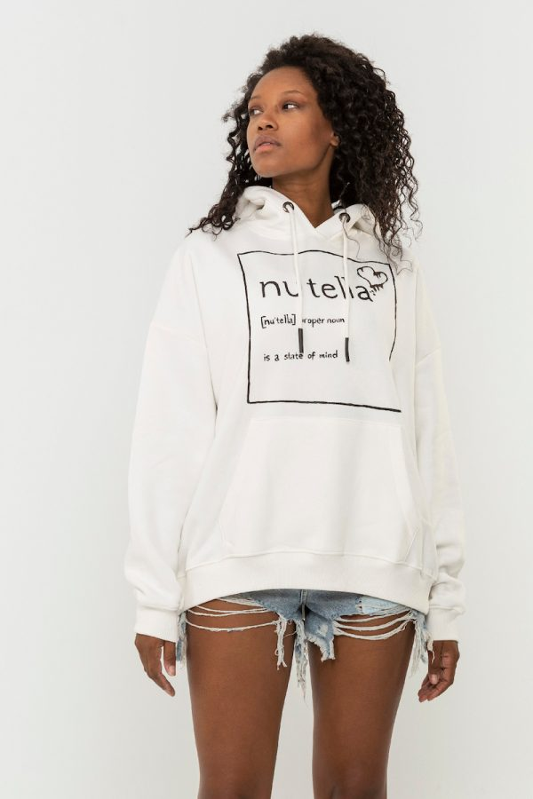 Look Project - Nutella - Hand Painted Hoodie