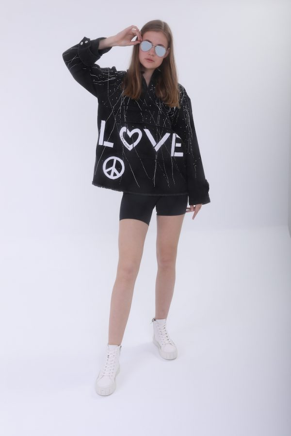 Look Project - Love is the answer hoodie