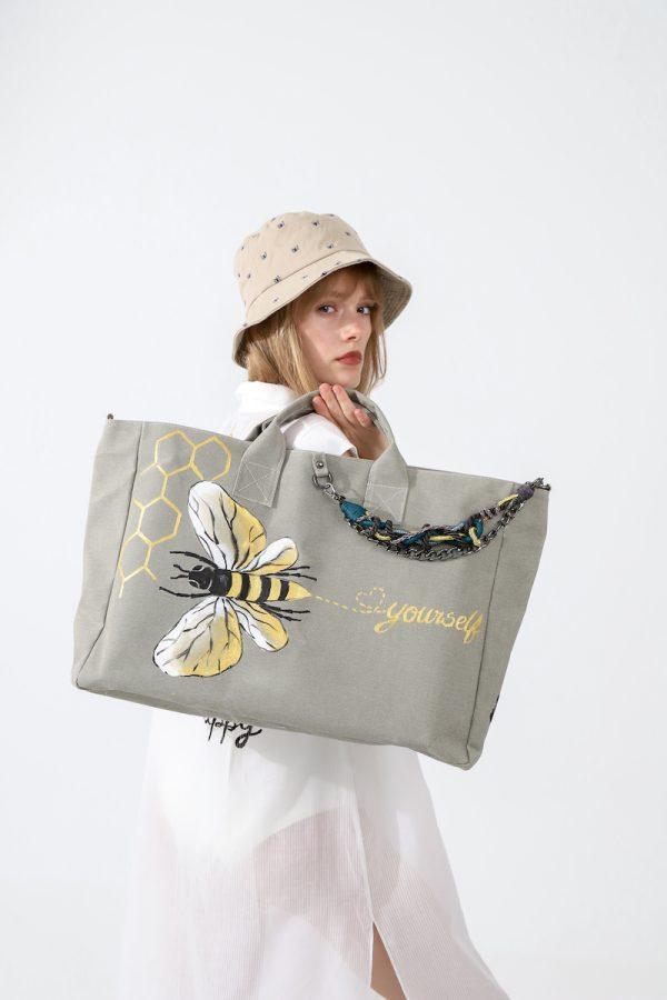 Look Project - Belo the Bee Kum Çanta