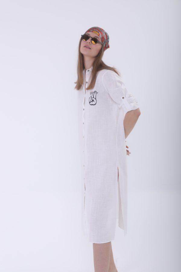 Look Project - Dreamer Gömlek Elbise