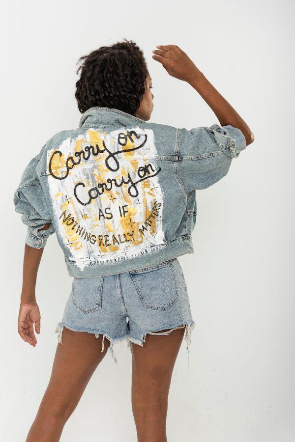 Look Project - Carry On - Denim Ceket