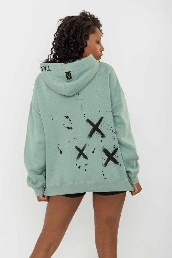 Look Project - Chaos - Hand Painted Hoodie