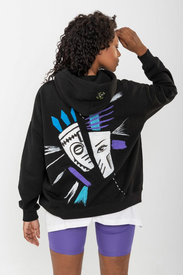 Look Project - Fearless - Hand Painted Hoodie