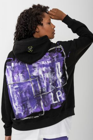 Look Project - Galaxy - Hand Painted Hoodie