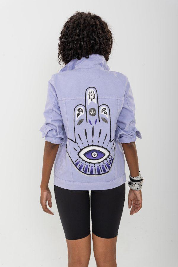 Look Project - Hamsa - Denim Ceket