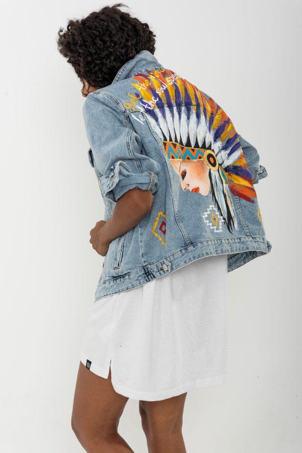 Look Project - İndean- Denim Ceket