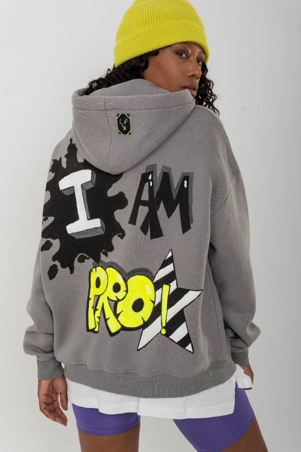 Look Project - Pro - Hand Painted Hoodie